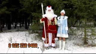Дед Мороз и Снегурочка на дом,на корпоратив, Москва