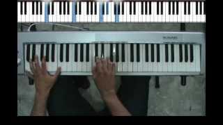 Tutorial Alex Ubago sin miedo a nada Piano version original