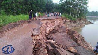 Warga Berteriak! Lihat Detik-detik Mengerikan Sungai Hilang di Telan Bumi    Fenomena² Alam