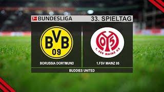 Borussia Dortmund 1 - 2 Mainz FC