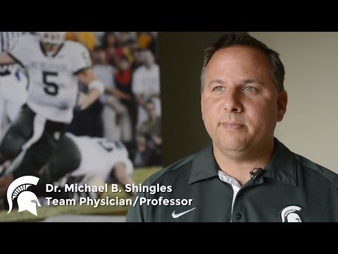 michigan state university sports medicine dr michael shingles youtube. Black Bedroom Furniture Sets. Home Design Ideas