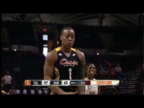 Tulsa Shock vs San Antonio Silver Stars Recap