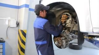 Instalación Completa Sistema de Suspensión Alto Desempeño Ironman 4...