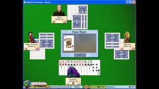 Hoyle Card Games 2005 - Hearts J01 (+5, 1st)[720p]