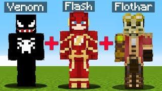 VENOM + FLASH = FLASHNOM? - Minecraft: Przygody z Flotharem #40