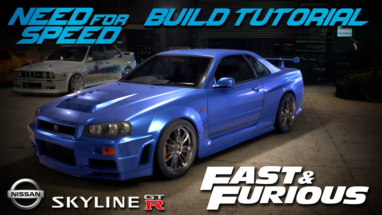 Need For Speed 2015 Fast Amp Furious Brian S Nissan