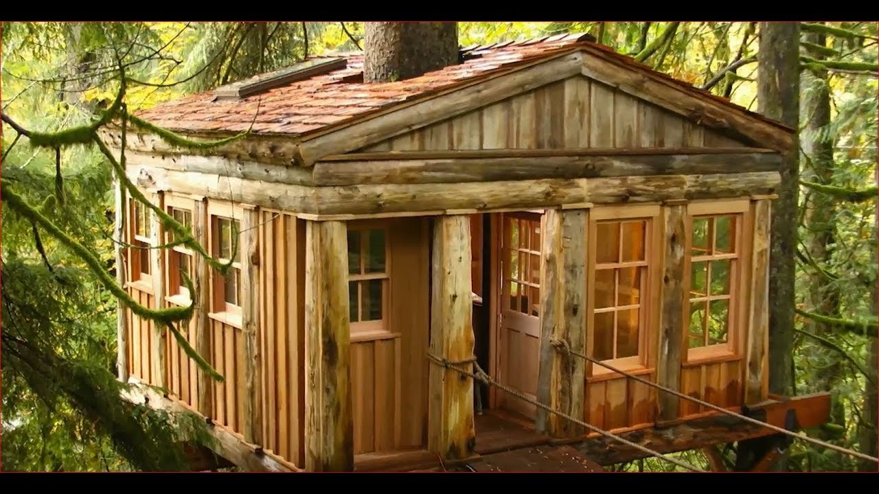 luxurious tree house dream house luxury tree houses the henry fords innovation nation youtube