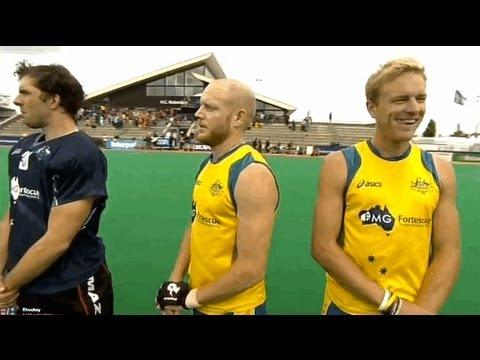 Australian National Anthem Fail at the Hockey World League Rotterdam