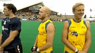 Australian National Anthem Fail at the Hockey World League Rotterdam