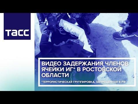 Видео задержания членов ячейки ИГ* в Ростовской области