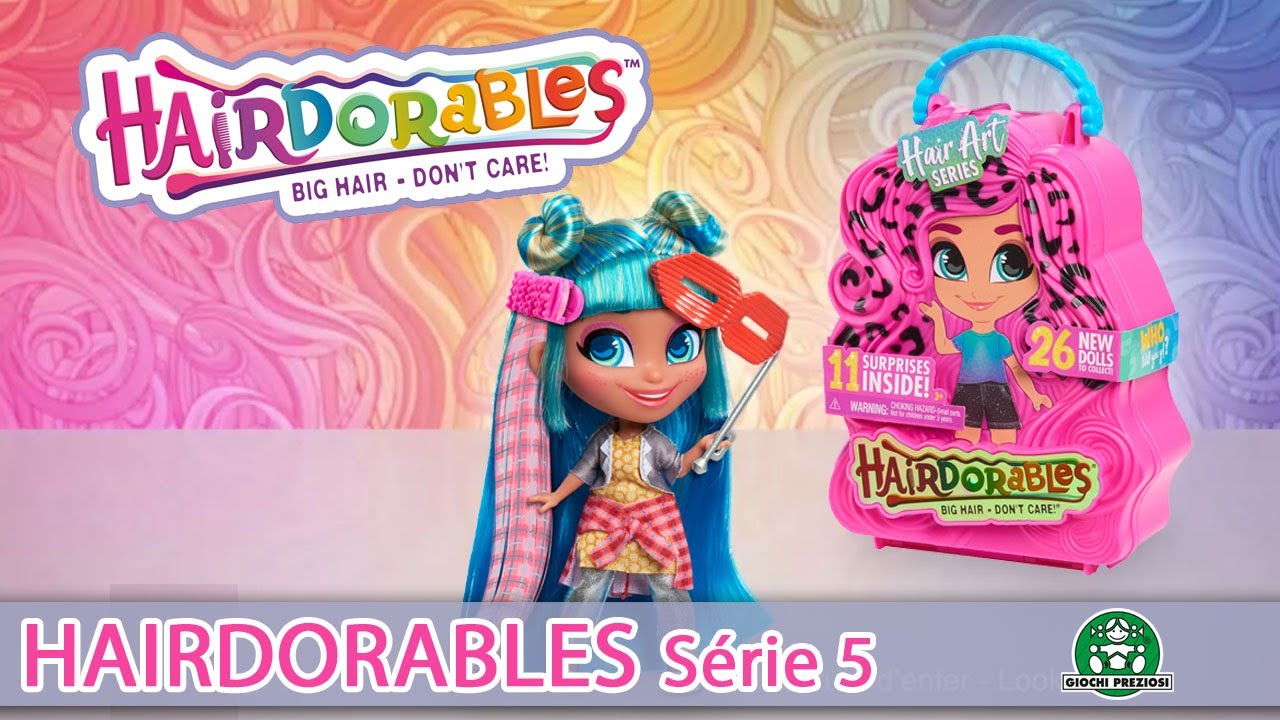 Hairdorables / Poupée Surprise Série 5 / Pub TV / Giochi France