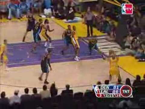 Highlights Nuggets @ Lakers (01/21/08)