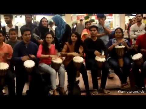 Techno Drum Circle with Amrut Bhat and Dj Amey