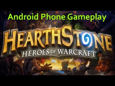 Hearthstone Official Android Phone Gameplay!