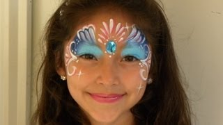 Repeat youtube video PINTACARITAS  PARA  NIÑA . FACE PAINTING .