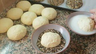 خبز الدار الرائع خفيف ومفشفش متشبعوش منو باسهل طريقة وبابسط المكونات لايفوتكم👌👌
