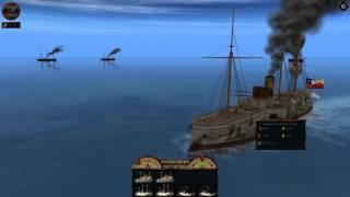 Victorian Admirals La Crisis de Panamá 1885 (Chile)