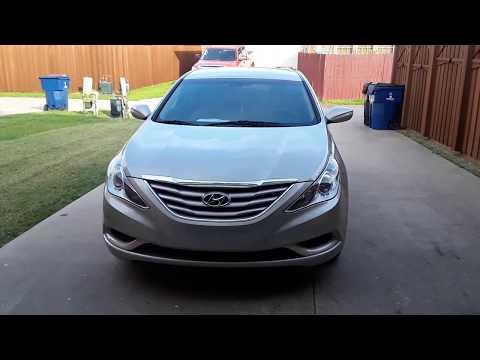 Review and walk around of a 2011 Hyundai Sonata GLS