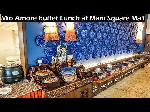 Mio Amore Restaurant Buffet Lunch , Mani Square Kolkata || Chicken Mutton Prawn Fish At ₹550