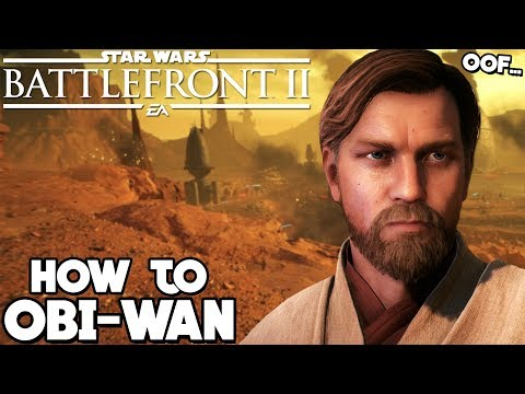 Star Wars Battlefront 2: How to Not Suck - Obi-Wan Kenobi Hero Guide and Review thumbnail