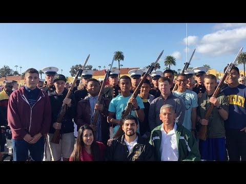 RVLOG: A Day At MCRD; Watching The USMC Band And Silent Drill Team