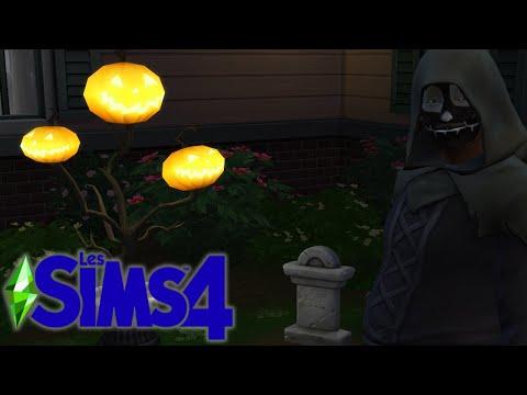 LE HALLOWEEN MORTEL (et bugué) DE JACQUES LOMBERT ! 🎃 - Les Sims 4