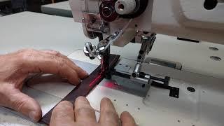 Techsew 1660 Pro industrial sewing machine sample AS