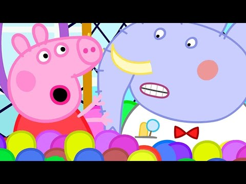 Peppa Pig Official Channel | Help it's a Trap! Mr Elephant is Stuck | Peppa Pig to the Rescue