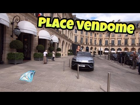 "Walking tour in Paris : Place Vendome - ""Luxury Shopping"""