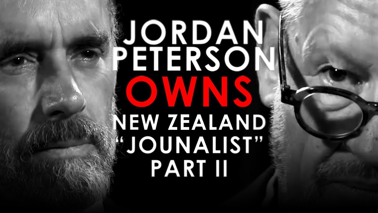 Mr. Reagan PART II - Jordan Peterson OWNS New Zealand Reporter