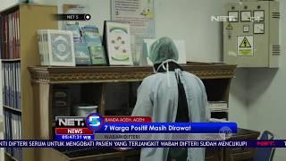 Download Video 7 Warga Positif Wabah Difteri Masih Dirawat NET5 MP3 3GP MP4