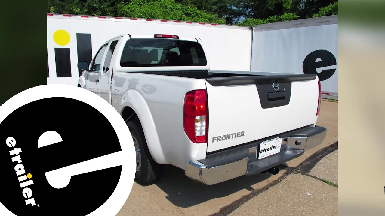 best 2015 nissan frontier trailer wiring options - etrailer com