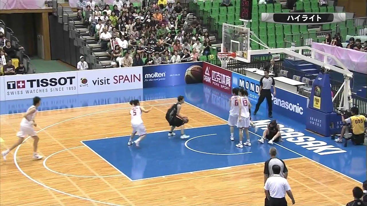 第24回FIBA アジア女子バスケ選...