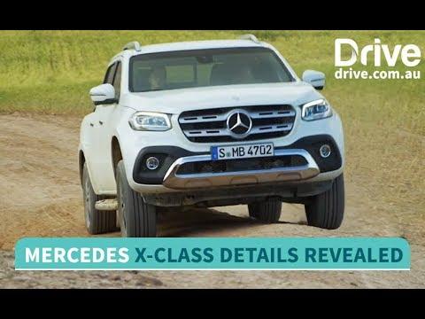 Mercedes-Benz X-Class Ute Revealed   Drive.au