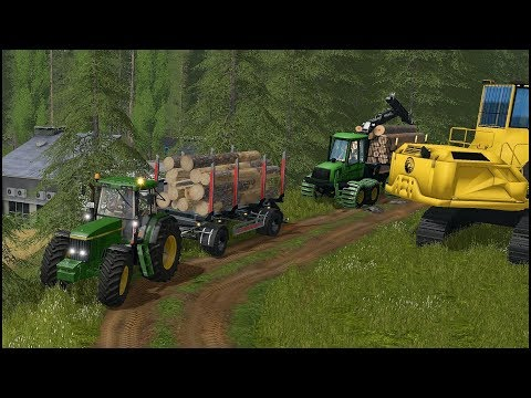 Farming Simulator 17 - Forestry And Farming On Woodshire 007