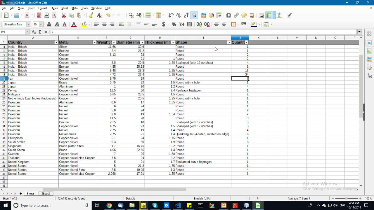 LibreOffice Calc Tutorial: Using LibreOffice an Google