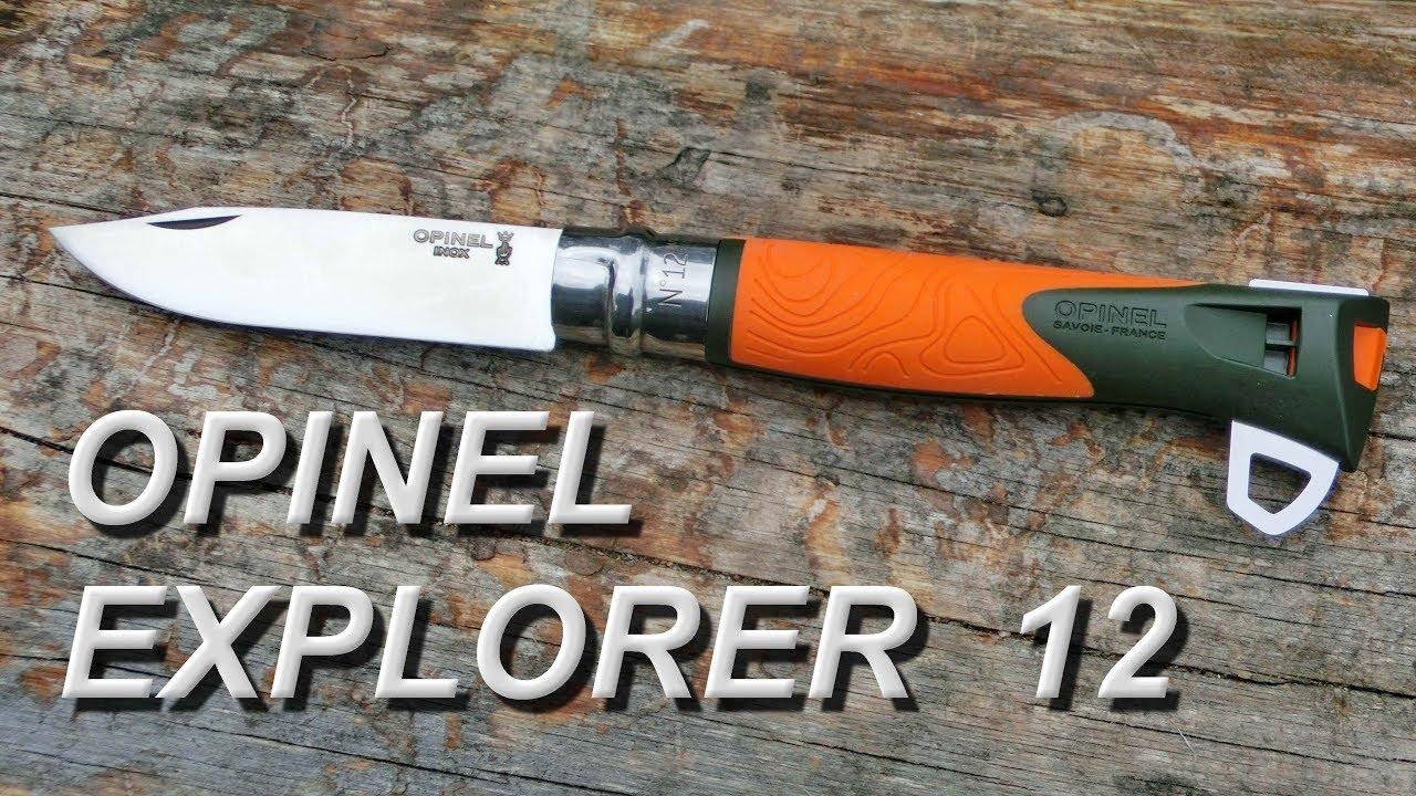 Нож Opinel №12. Как нож туриста - YouTube