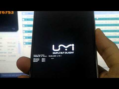 UMI Rome - How to install TWRP/ Update Firmware