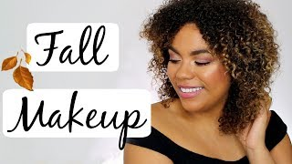 Super easy fall makeup routine featuring COVERGIRL's new Peacock Fl...