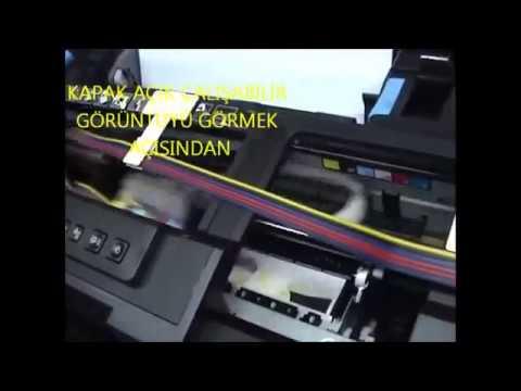 Bitmeyen Kartuşlu EPSON R1500 Tanıtım Videosu (Ciss)