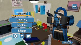 ROBLOX Arsenal Gameplay EN-BR/Two matches and the Gordooo