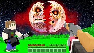 FAKİR KORKUNÇ AY'I ÖLDÜRDÜ! 😱 - Minecraft