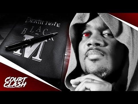 Court Clash - Black M-Death Note #7