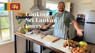 Cooking Sri Lankan Curry | Farm House | Ambewela, Sri Lanka 🇱🇰