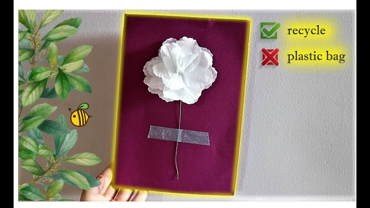 ♻️ greeting card  plastic bag recycling  youtube