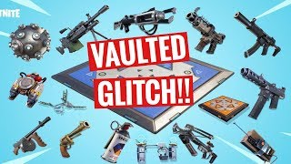 GET VAULTED ITEMS IN FORTNITE (Creative)!! Fortnite Glitches 2019!!