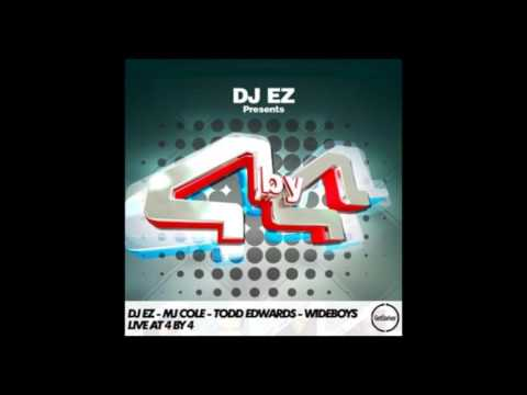 DJ EZ, MJ Cole, Todd Edwards & Wideboys – Live at 4 by 4 – 12/04/2009