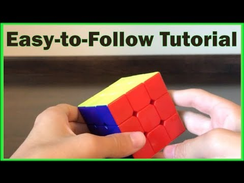 How to Solve the 3x3 Rubik's Cube (Beginner's Method) HD