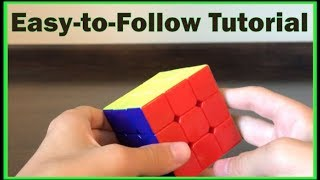 How to Solve the 3x3 Rubik's Cube (Beginner's Method) HD
