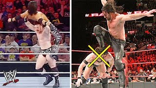 10 WWE Banned Wrestling Moves That Aren't Fake - Real Dangerous Moves